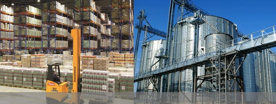 Для промышленных предприятий и складов